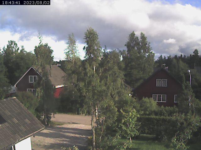 Webcam Stocka, Nordanstig, Hälsingland, Schweden